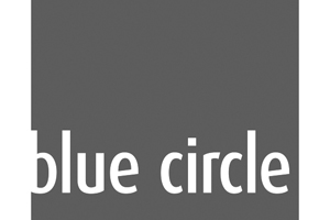 Blue Circle-grijs